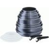 Tefal L2319652 Ingenio elegance edénykészlet - 15 db-os - Fekete