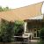 Téglalap alakú árnyékoló, napvitorla - árnyékoló, 3 x 4 méter
