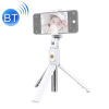Telealk Selfie bot és állvány mobiltelefonhoz, állítható, bluetooth, távirányítós (fehér)