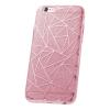 TelForceOne Samsung Galaxy A5 (2017) A520 Fashion Glitter Geometric hátlap, tok, pink