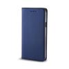 TelForceOne Smart Magnet Samsung Galaxy A8 (2018) oldalra nyíló tok, sötétkék