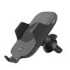 Tellur TLL151201 10W, USB C fekete vezeték nélküli autós gyors töltő és motoros tartó