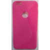Telone Apple iPhone 6 Plus 5.5 gumis S-buborék tok pink*