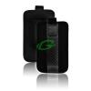 """Telone Carbon kihúzhatós univerzális bőrtok (3.5""""-ig) MAGIC/C3/N97/I5700/S8500"""