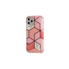 Telone Cosmo Marble szilikon tok Samsung A105 Galaxy A10, M105 Galaxy M10-hez pink tok és táska