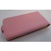 Telone Flexi Slim lefelé nyíló bőrbevonatos fliptok Sony D6603, D6616, D6643, D6653 Xperia Z3-hoz rózsaszín*