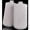 Telone Special Flower álló kihúzhatós bőrtok Nokia Lumia 820 méretű fehér*