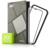 Tempered Glass Protector - iPhone 12 Mini, 3D Case Friendly, fekete + kamera üveg