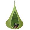 TEMPO KONDELA Függő fotel, zöld, KLORIN NEW KLASIK CACOON HAMMOCK