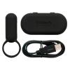TENGA Smart Vibe péniszgyűrű (fekete)