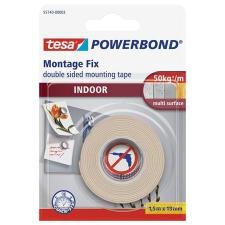 """Tesa Ragasztószalag, kétoldalas, beltéri, 19 mm x 1,5 m, TESA """"Powerbond"""" ragasztószalag"""