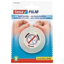 """Tesa Ragasztószalag, kézzel téphető, 19 mm x 25 m, TESA """"Tesafilm"""", átlátszó ragasztószalag"""