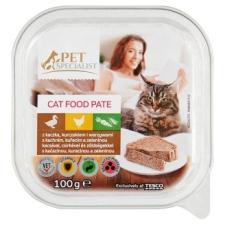 Tesco Pet Specialist teljes értékű eledel felnőtt macskáknak kacsával, csirkével, zöldségekkel 100 g macskaeledel