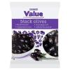 Tesco Tesco Value magozott, fekete olívabogyó 200 g
