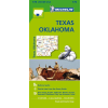 Texas - Oklahoma térkép - Michelin 176