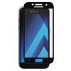 TGSP edzett üvegfólia 9H keménységű, 5D Full Cover, Samsung Galaxy A3 (2017), fekete