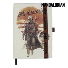 The Mandalorian Jegyzettömböt The Mandalorian Bézs szín A5 jegyzettömb