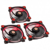 Thermaltake Riing 12 LED Red 3-Fan Pack (CL-F055-PL12RE-A)