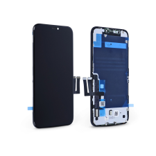 Tianma LCD kijelző érintőpanellel - Apple iPhone 11 - Tianma Incell kiváló minőségű, utángyártott - fekete mobiltelefon kellék