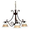 Tilago Parma 141 Chandelier with 3 brand., E14 3x40W