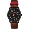 Timex Easy Reader Color Pop 38mm Leather Strap Watch TW2R62300