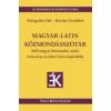 Tinta MAGYAR-LATIN KÖZMONDÁSSZÓTÁR
