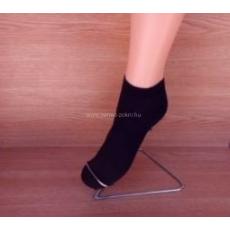 Titok pamut zokni - fekete 37-38