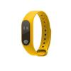 TM M2 android és iOS kompatibilis cseppálló okos karkötő - Sárga