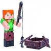 TM Toys Minecraft Alex a hajóval