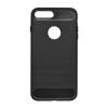Tok, carbon szilikon hátlap, Samsung Galaxy A6, fekete