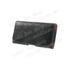 Tok fekvõ, bõr - rejtett mágnescsat, övre fûzhetõ, övcsipesz - FEKETE - SAMSUNG SM-G900F Galaxy S5 méret - 143 x 75 x 12 mm
