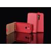 Tok, flip tok, Samsung Galaxy J3 (2016) J320, piros, flexi, csomagolás nélküli
