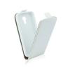 Tok, flip tok, Sony Xperia M4 Aqua, fehér, flexi, csomagolás nélküli