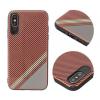 Tok, Grid, szilikon hátlap, Huawei P8 Lite (2017) / P9 Lite (2017), minta 1, piros