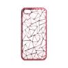 Tok, Luxury Metalic szilikon tok, Samsung Galaxy A3 (2016) A310, mozaik mintás, rose gold