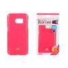 Tok, Mercury Jelly, szilikon, (csillámporos), Apple Iphone X, rózsaszín