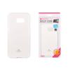 Tok, Mercury Jelly, szilikon, (csillámporos), Samsung Galaxy Core I8260, fehér