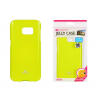Tok, Mercury Jelly, szilikon, (csillámporos), Samsung Galaxy S7 Edge G935, lime zöld