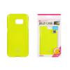 Tok, Mercury Jelly, szilikon, (csillámporos), Sony E5, lime zöld