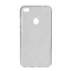 Tok, Shining, Huawei Y7, szilikon hátlapvédő, 3 részes, ezüst
