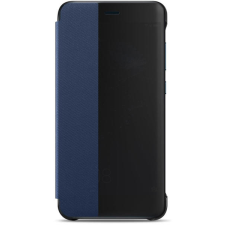 Tok Smart Clear View - Huawei P10 Lite fekete tok és táska