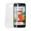 Tok, Ultra Slim-szilikon tok, LG X Power, átlátszó, csomagolás nélkül