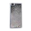Tok, Water Case szilikon tok, Apple iPhone 5, 5S, 5SE, Stars, átlátszó, ezüst csillámmal