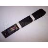 Tokaido Karate öv, Tokaido, műselyem, fekete, Japán design