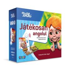 Tolki Tolki Interaktív foglalkoztató könyv tollal készletben - Játékosan angolul idegen nyelvű könyv