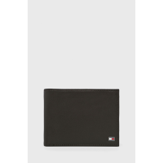 Tommy Hilfiger - Bőr pénztárca - barna - 1481113-barna