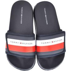 Tommy Hilfiger férfi papucs T3B0-30761-0739800, 35, kék