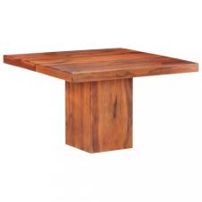 Tömör kelet-indiai rózsafa étkezőasztal 120 x 120 x 77 cm bútor