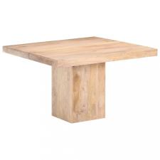 Tömör mangófa étkezőasztal 120 x 120 x 77 cm bútor