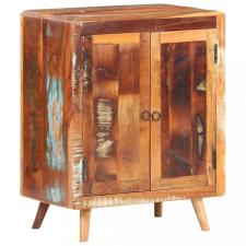 Tömör újrahasznosított fa komód 60 x 35 x 76 cm bútor